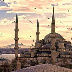 Пазл онлайн: Мечеть в Стамбуле