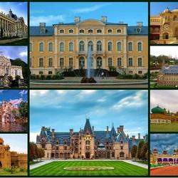 Пазл онлайн: Дворцы