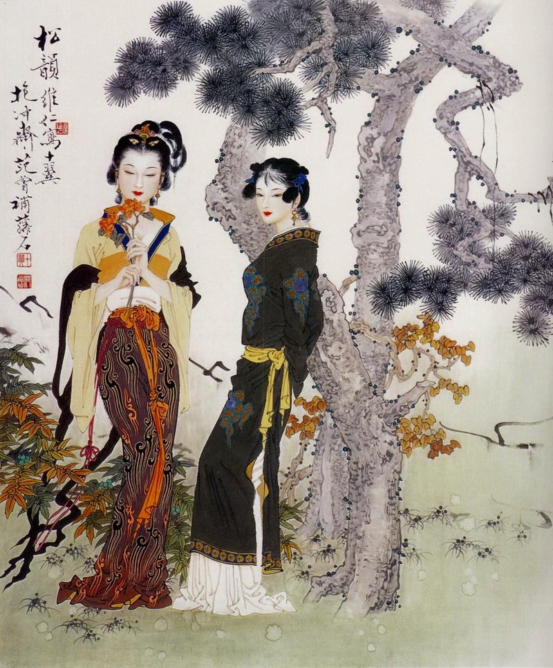 китайские картинки и сюжеты влюблена