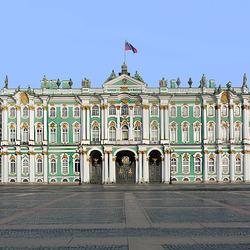 Пазл онлайн: Зимний дворец(фрагмент)