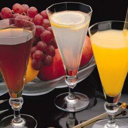 Пазл онлайн: Сок и фрукты