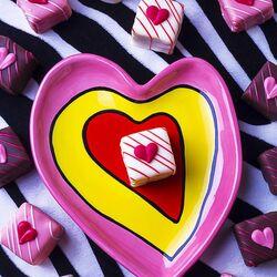 Пазл онлайн: Сладкие сердечки