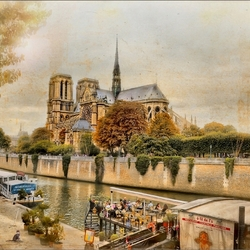 Пазл онлайн: Собор Парижской Богоматери