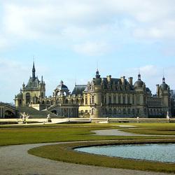 Пазл онлайн: Замок Шантийи