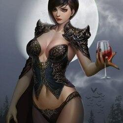 Пазл онлайн: Напиток вампира
