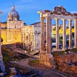 Пазл онлайн: Римский форум