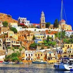 Пазл онлайн: Сими, Греция