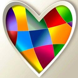 Пазл онлайн: Сердце
