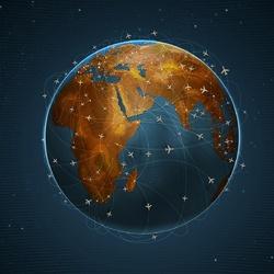 Пазл онлайн: Планета путешествий