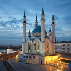 Пазл онлайн: Мечеть в Казани