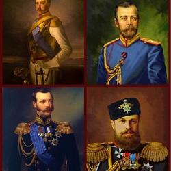 Пазл онлайн:  Династия Романовых