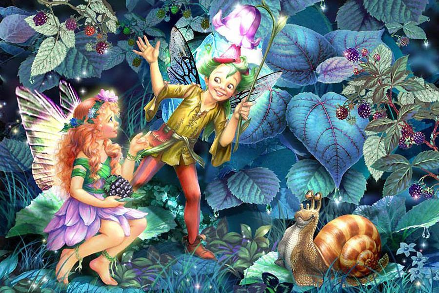 Летием, картинки сказочные феи и эльфы