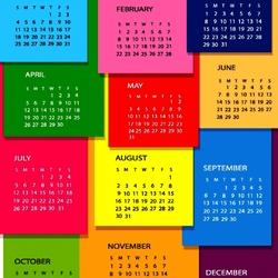 Пазл онлайн: Календарь