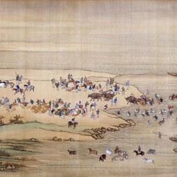Пазл онлайн: The Kangxi Emperor's Southern Inspection Tour(IX)/Южный инспекционный Тур императора Канси (IX), 1
