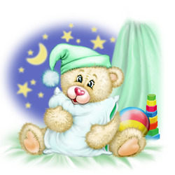 Пазл онлайн: Спокойной ночи