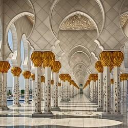 Пазл онлайн: Мечеть Зайда