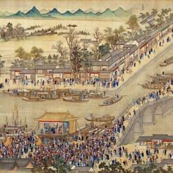 Пазл онлайн: The Kangxi Emperor's Southern Inspection Tour(IX)/Южный инспекционный Тур императора Канси (IX), 4