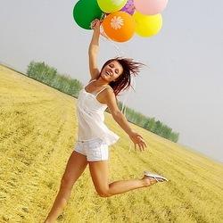 Пазл онлайн: Женский оптимизм!