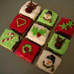 Пазл онлайн: Пирожное