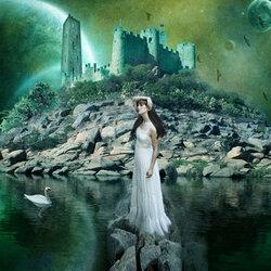 Пазл онлайн: Дорога к замку