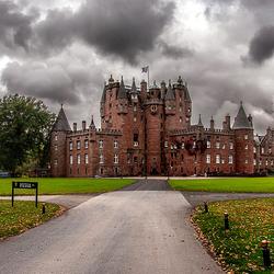 Пазл онлайн: Замок Глэмис