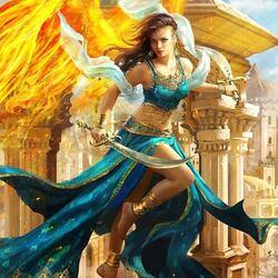 Пазл онлайн: Королева Солнца