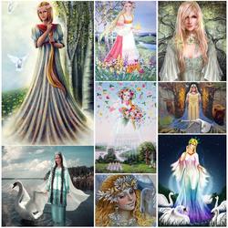 Пазл онлайн: Богиня Лада