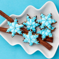 Пазл онлайн: Новогоднее печенье