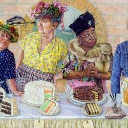 Пазл онлайн: На конкурсе тортов