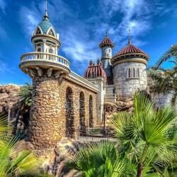 Пазл онлайн: Замок принца Эрика