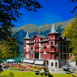 Пазл онлайн: Отель Гиссбах ( Giessbach)