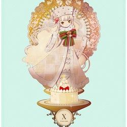 Пазл онлайн: Рождественский пирог
