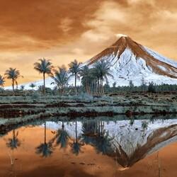 Пазл онлайн: Вулкан Майон
