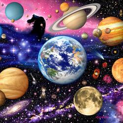 Пазл онлайн: Вселенная
