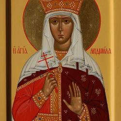 Пазл онлайн: Святая мученица Людмила