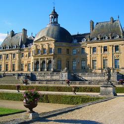 Пазл онлайн: Замок Во-ле-Виконт