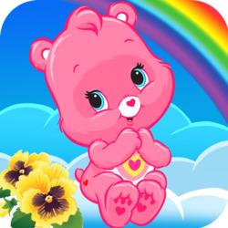 Пазл онлайн: Розовый мишка