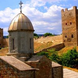 Пазл онлайн: Генуэзская крепость, Феодосия