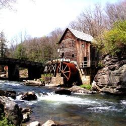 Пазл онлайн: Водяная мельница