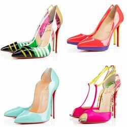 Пазл онлайн: Я люблю туфли!