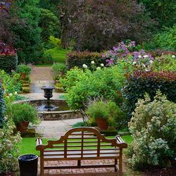 Пазл онлайн: Сады Newby Hall