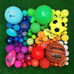 Пазл онлайн: Мячики