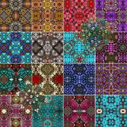 Пазл онлайн: Мозаика из камней