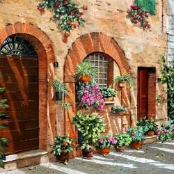 Пазл онлайн: Поездки В Тоскану