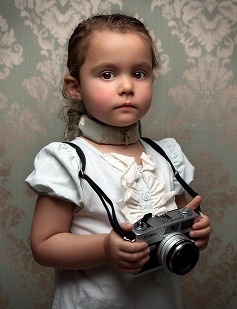 Интересные портреты детей фото
