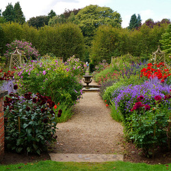 Пазл онлайн: Сады Newby Hall, Англия