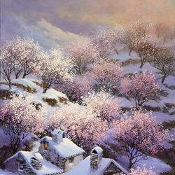 Пазл онлайн: Ранняя весна