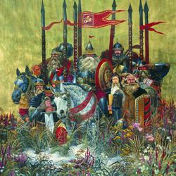 Пазл онлайн: Богатырская застава