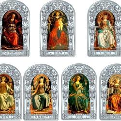 Пазл онлайн: Семь христианских добродетелей