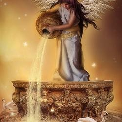 Пазл онлайн: Ангел воды